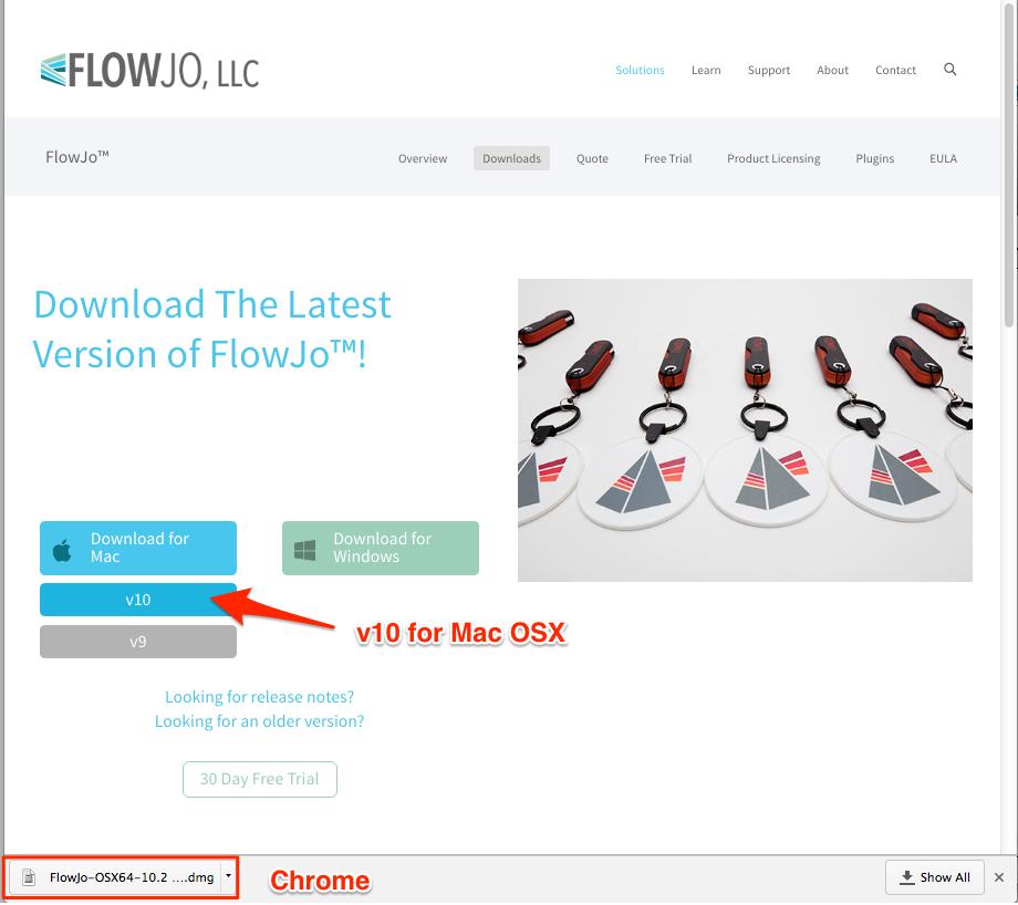 Installation From the Web | FlowJo v10 Documentation -