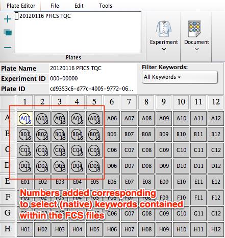 Importing metadata from a CSV file | FlowJo v10 Documentation -