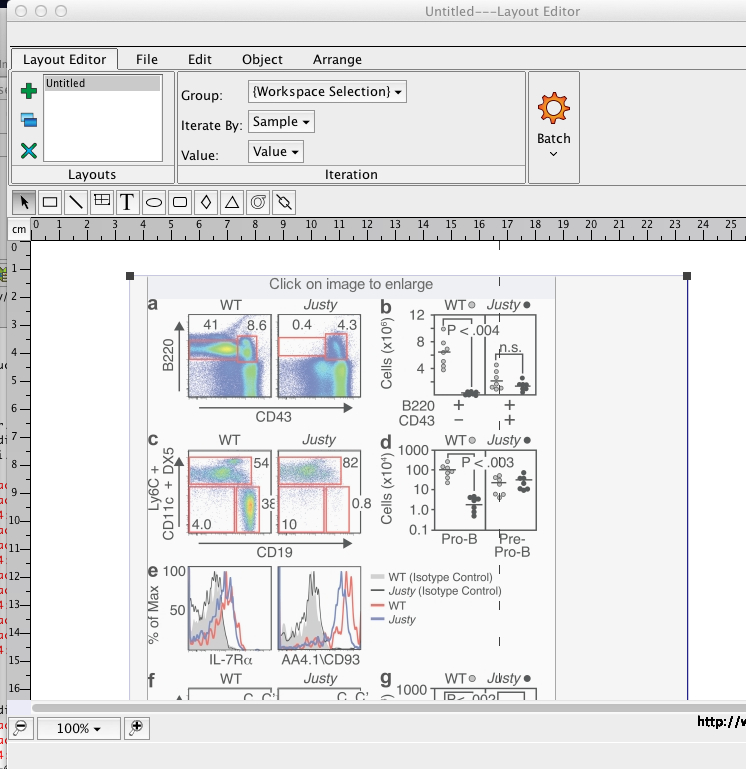 Layout Editor URL Link   FlowJo v10 0 7 Documentation -
